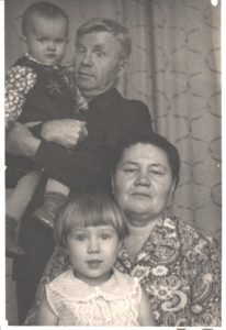 баба Маня дед я и Ольга