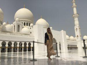 Я и мечеть Шейха Заида