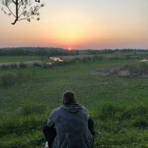 закат в Жучково
