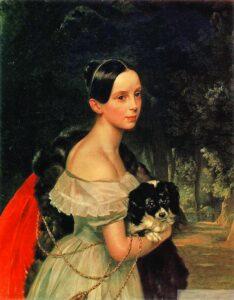 Женский портрет Брюллов
